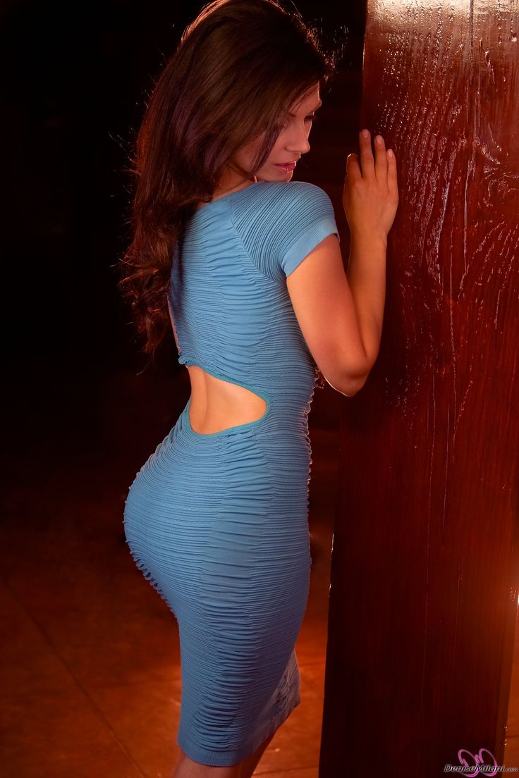 Pin by Tee One on DENISE♥ MILANI | Pinterest Denise Milani Blue Dress