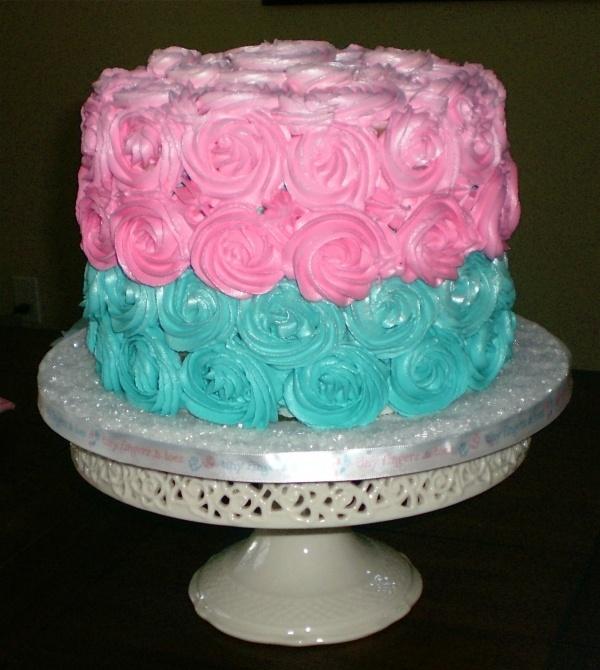 baby revealing cake cake baby shower gender reveal pinterest