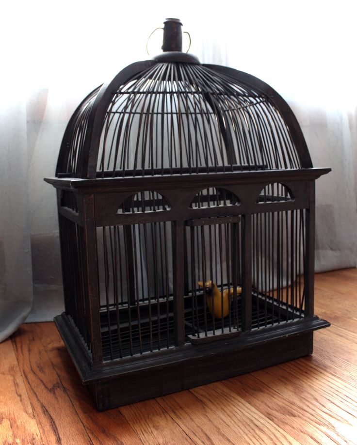 large vintage bird cage diana pinterest. Black Bedroom Furniture Sets. Home Design Ideas