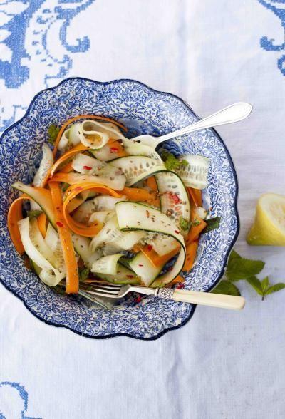 Cucumber & Carrot Salad