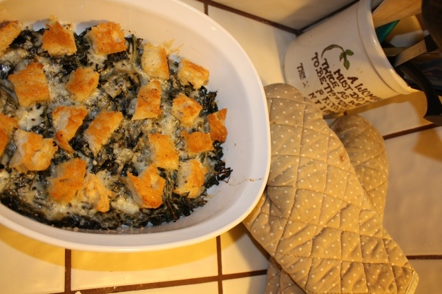 Crispy Baked Kale | Sides and Such | Pinterest