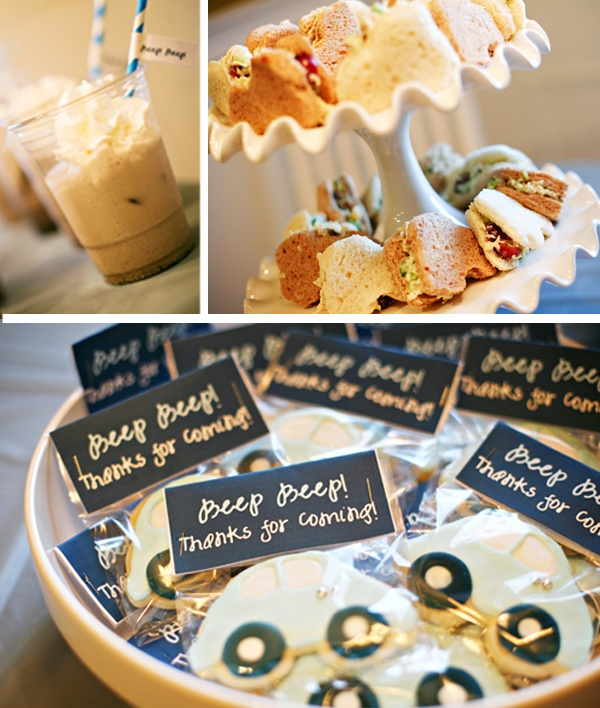 Baby Shower Themes Cars ~ Baby shower food ideas car themed