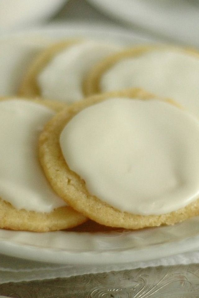Glazed Lemon Cookies | food! | Pinterest
