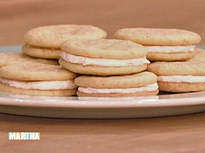 Pink Grapefruit Sandwich Cookies, Recipe from The Martha Stewart Show ...