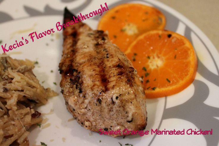 Sweet Orange marinated chicken | Chicken | Pinterest