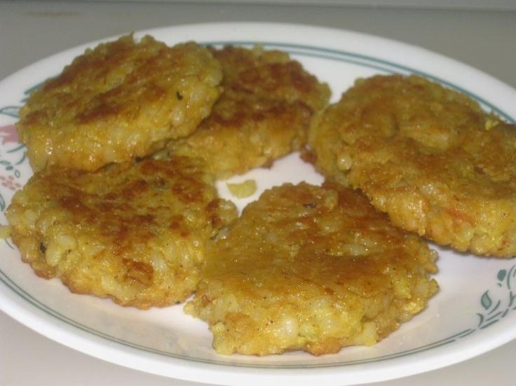 Banana Rice Pancakes | Crepes, Pancakes, Latkes | Pinterest