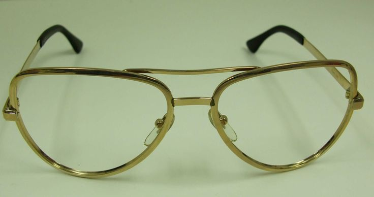 Vintage eye glasses eyeglass frames 14k gold fill aviators ...