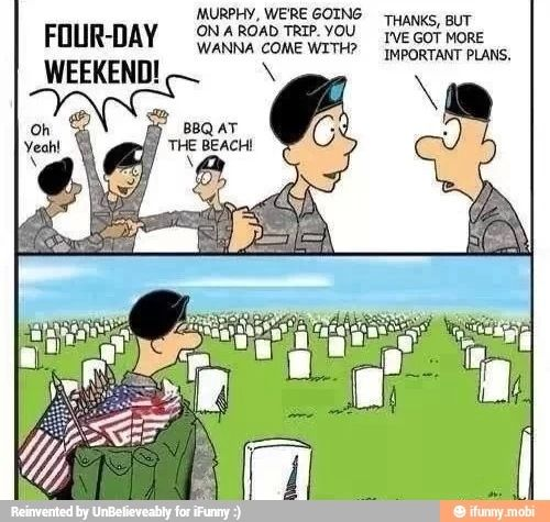 what day is memorial day and labor day
