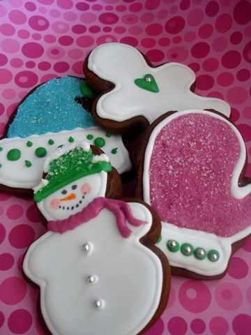 Gingerbread Cookies with Royal Icing | Delicious | Pinterest