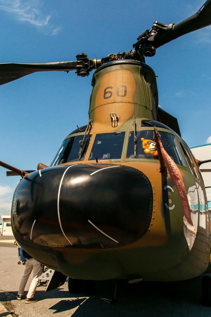 CH-47JA of JGSDF.