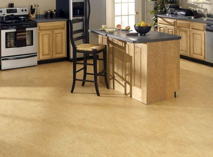 Cork floor for kitchen 10 flooring pinterest for Kitchen designs cork