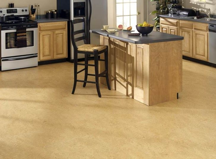 Cork floor for kitchen 10 flooring pinterest - Pisos para cocinas ...