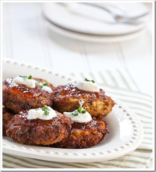 Cheesy Zucchini Latkes | Side Dishes | Pinterest