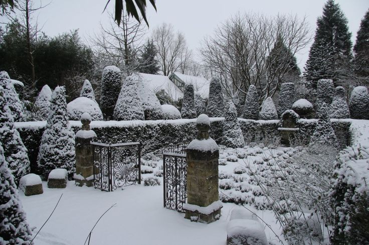 Gardentherapy Winter At Les Jardins Agapanthe Normandy