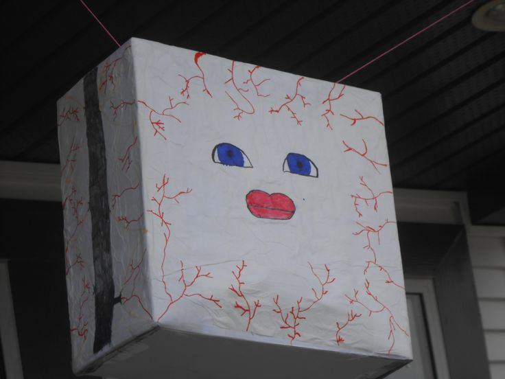 Cassandra piñata .... Dr. Who party