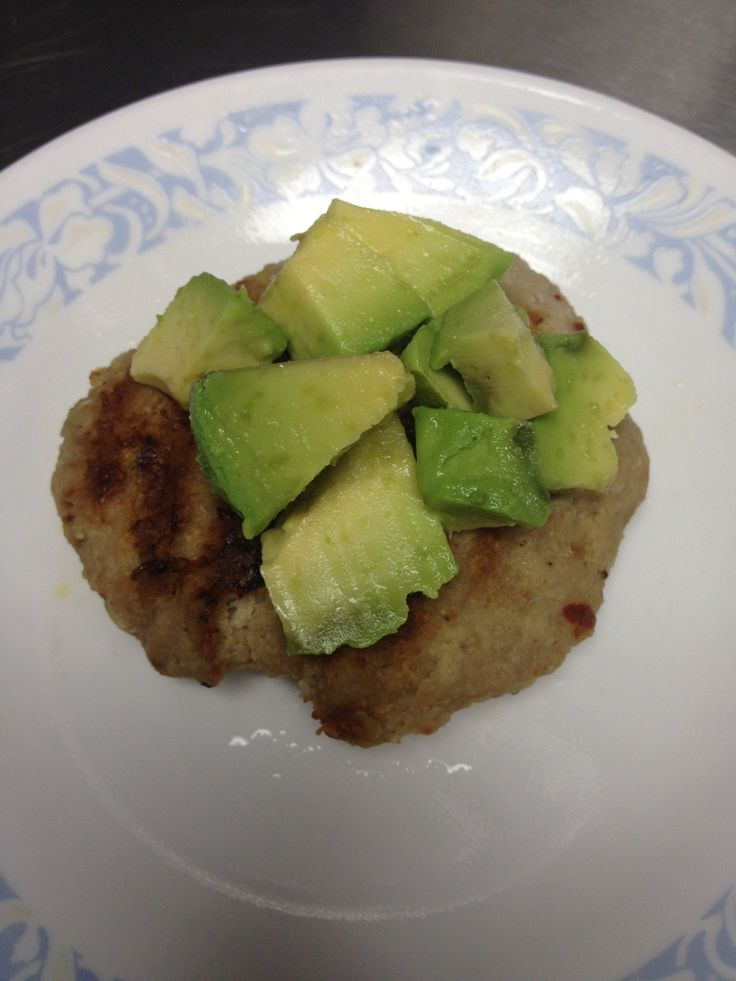 Spicy Turkey Avocado Burger | Paleo.... | Pinterest
