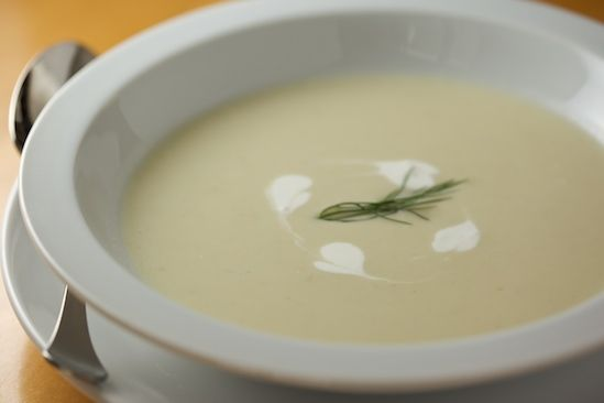 Creamy Fennel and Leek Soup - Pinch My Salt (but obviously with ...