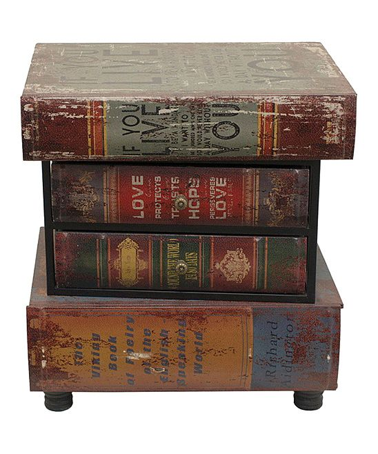 Wood books end table for Spl table 99 00