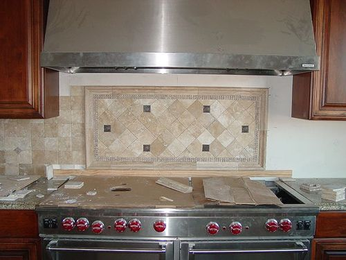 Travertine backsplash kitchen ideas pinterest - Backsplash designs travertine ...