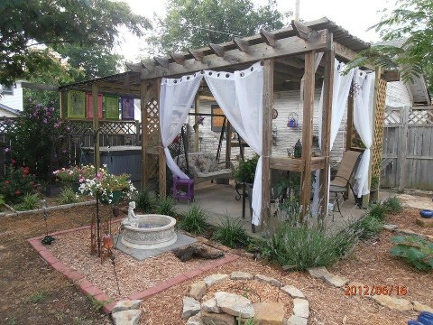 backyard escape favorite places outside pinterest