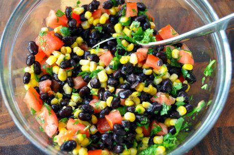 Corn and Black Bean Salsa | Yummmmmh! | Pinterest