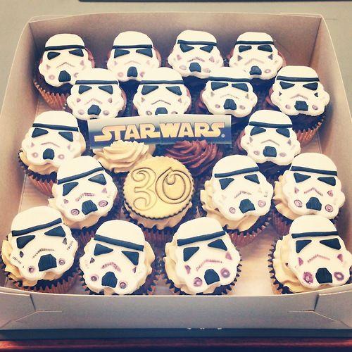 star cupcake cakes