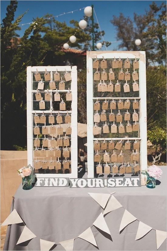 Great Table Assignment Idea Wedding Ideas Pinterest