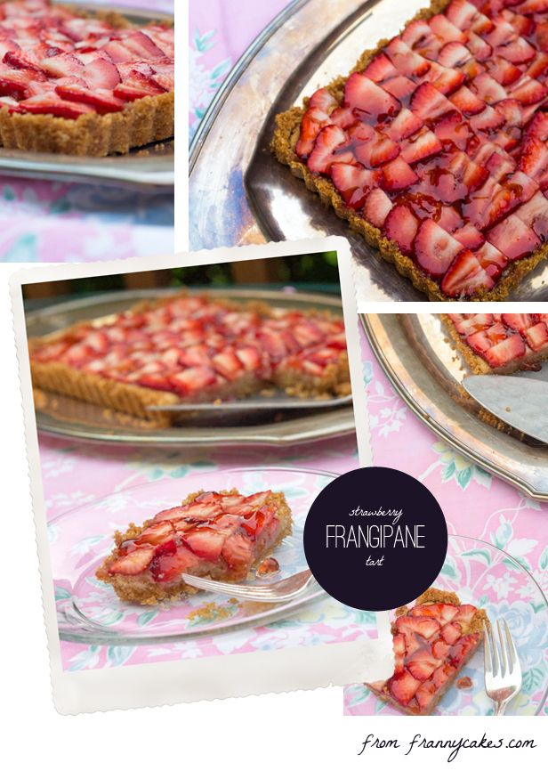 Gluten-free Strawberry Frangipane Tart with Brown Butter Brown Rice C ...