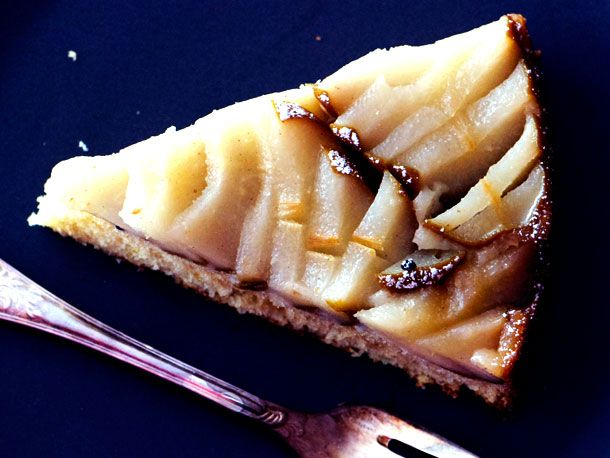 NEW Thanksgiving favorite...Almond-Pear Cake!