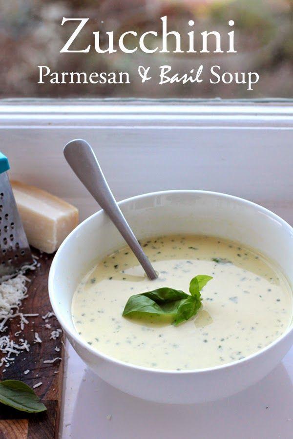 ... Style, DIY, Refashioning, Jewellery: Zucchini, Basil and Parmesan Soup