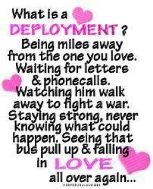 Love Quotes For Him Deployed : Husband Quotes For Deployment. QuotesGram