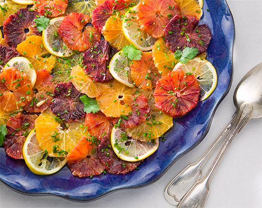 Blood orange and Winter Citrus Salad | Winter | Pinterest
