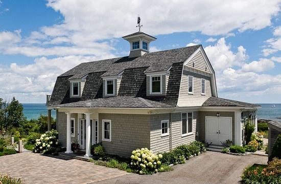 Coastal Maine Gambrel Style Home Pinterest