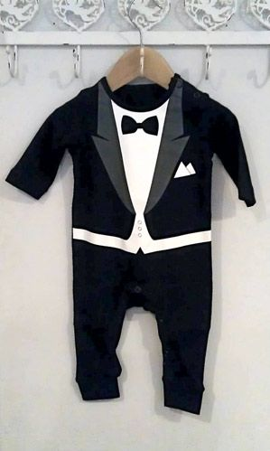 Buy Babies Tuxedo Baby Grow: Shop top fashion brands Bodysuits at lemkecollier.ga FREE DELIVERY and Returns possible on eligible purchases. Interesting Finds Updated Daily. Amazon Try Prime Clothing, Shoes & Jewelry Go Search EN Hello.