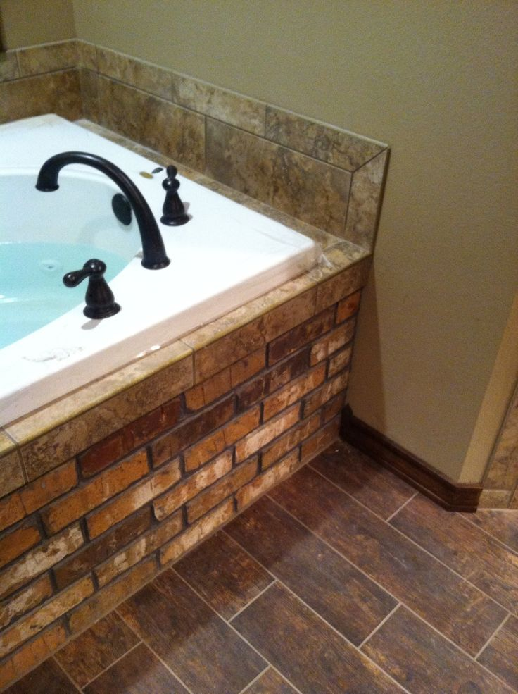 want a brick bathtub!