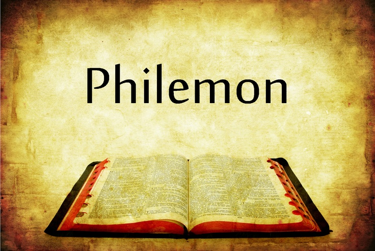 an analysis of pauls letter to philemon in the new testament Epistle to the colossians the number of words foreign to the new testament and paul is colossians has some close parallels with the letter to philemon.