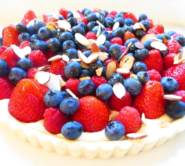 Strawberry, Blueberry and Raspberry Tart | Pies, Tarts & Cobblers | P ...