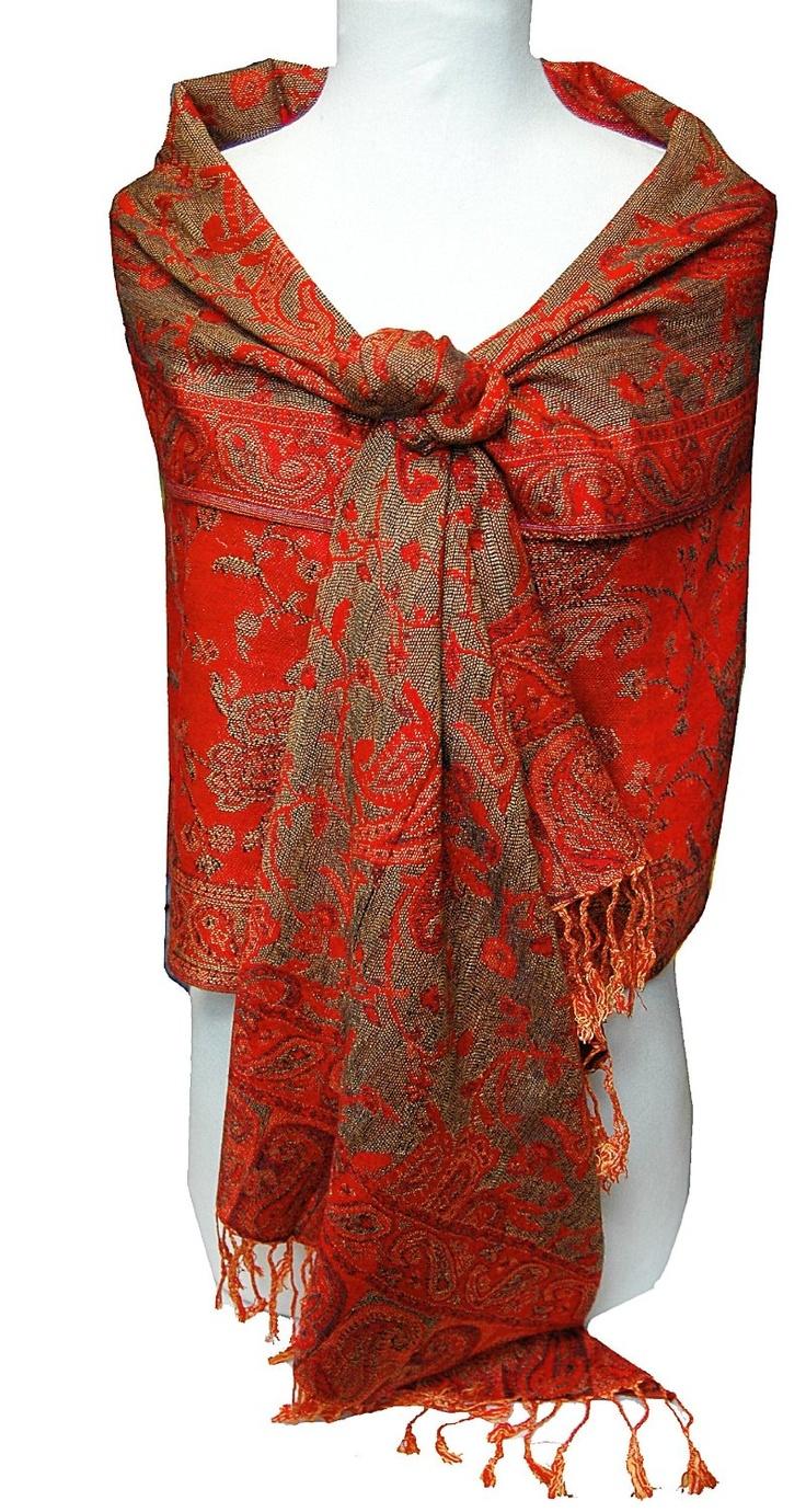 reversible paisley pashmina scarf it is