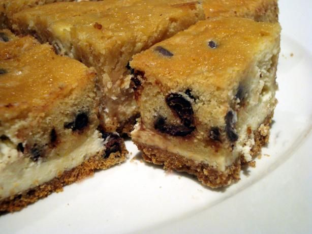 Chocolate Chip Cookie Dough Cheesecake Bars. Photo by ...