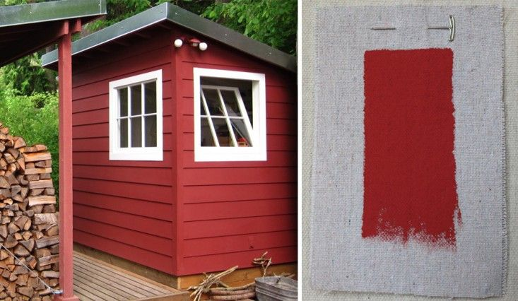 Benjamin Moore Million Dollar Red A Cabin In The Woods