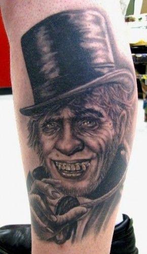 Mr  Hyde portrait tatt...