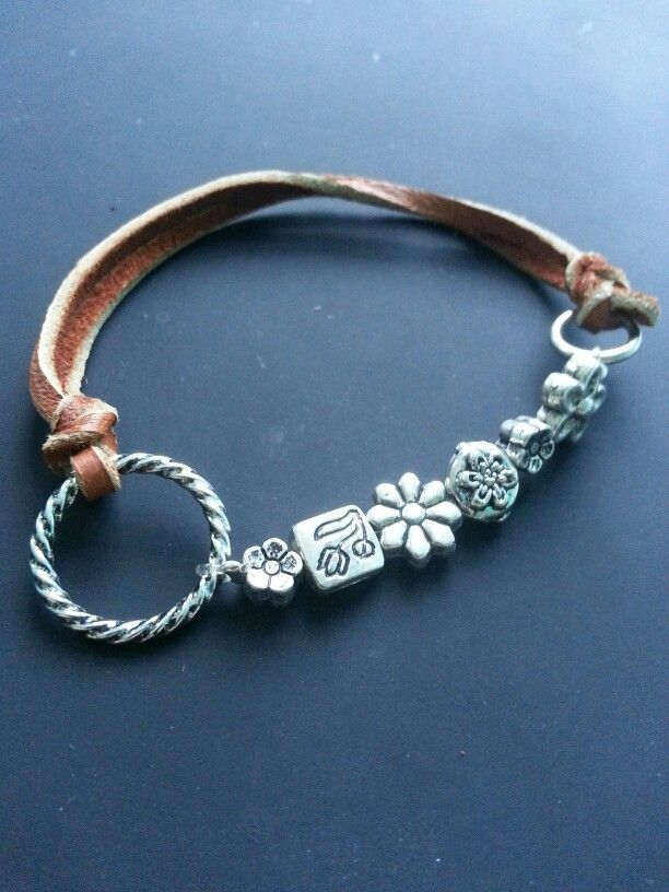 leather and stretch cord bracelet 20 jewelry