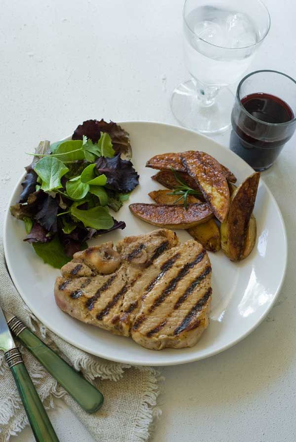 Gluten Free Maple Brined Pork Chops Recipe | Simply Gluten Free