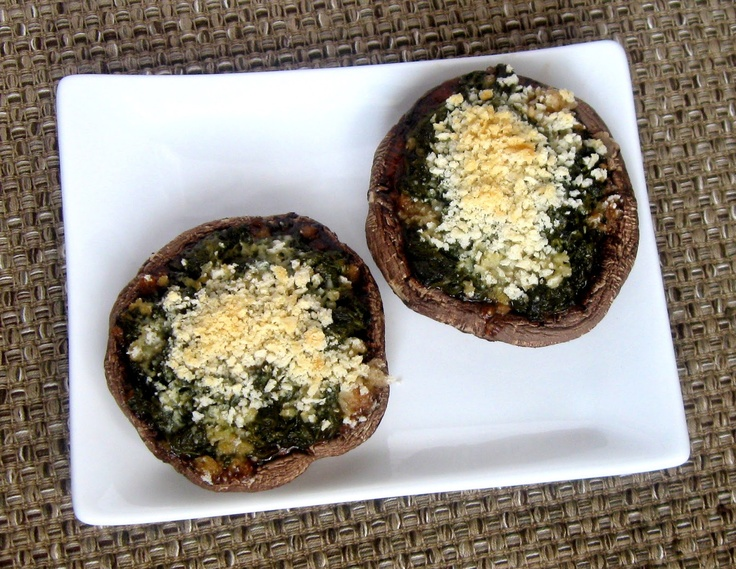 Easy Stuffed Mushrooms | Morsels of Morels and Shrooms | Pinterest