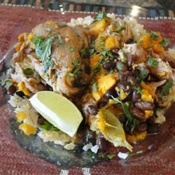 Slow Cooker Latin Chicken Recipe - I made this last week, and it was ...