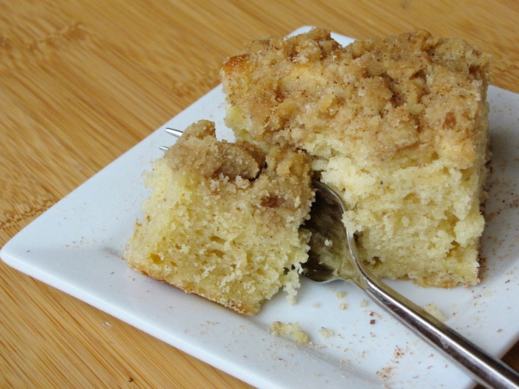 eggnog crumble coffee cake - this sound delicious! from Sweet Anna's