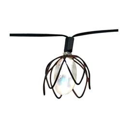 wire string lighting Outdoor Living Pinterest