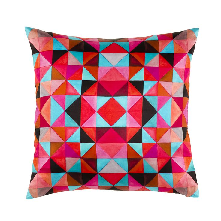 Mariska Meijers Bold Cubism Cushion Cover Picasso Red