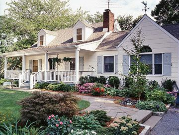 Cape cod style home ideas for Landscaping for cape cod style houses