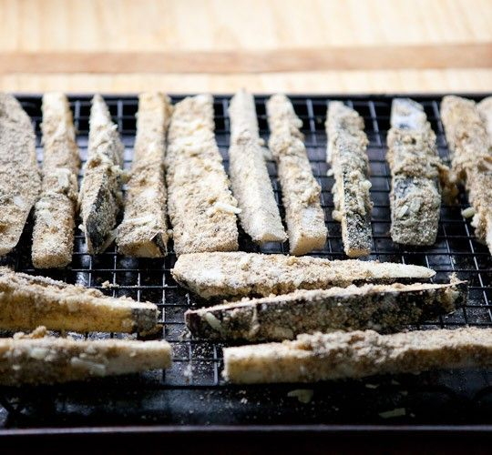 Recipe: Baked Za'atar Eggplant Fries with Lemon Tahini Dip Recipes ...